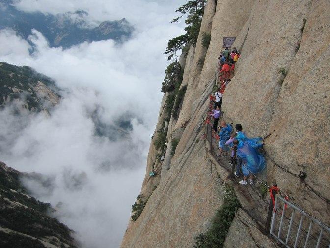 Vertigo Atop Mount Hua
