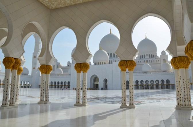 Wander Pi Wednesdays: The Sheikh Zayed Grand Mosque