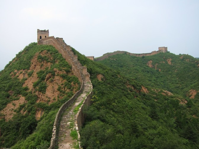 "The Great ""Wild"" Wall of China"