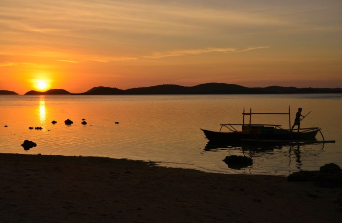 Wander Pi Wednesdays: Sunset in Palawan