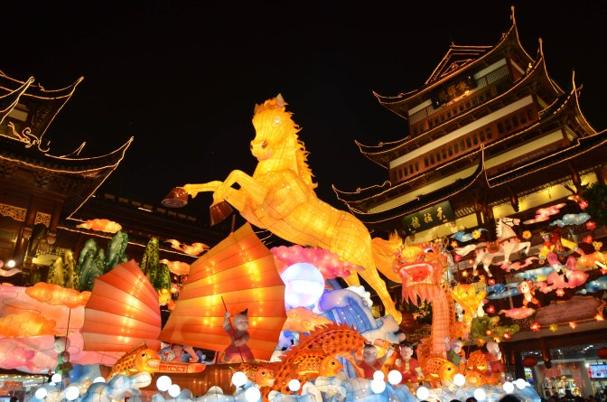 Wander Pi Wednesdays: Shanghai's Chinese New Year