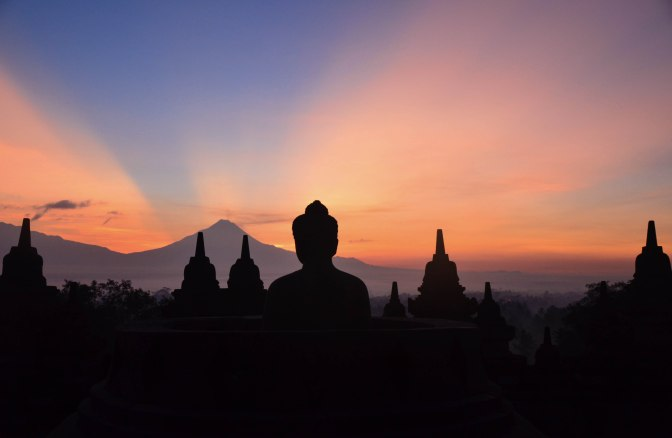 Wander Pi Wednesdays: Sunrise Over Borobudur