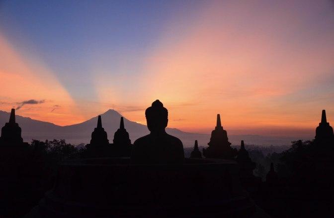 Wander Pi Wednesdays: Sunrise Over Borobudur