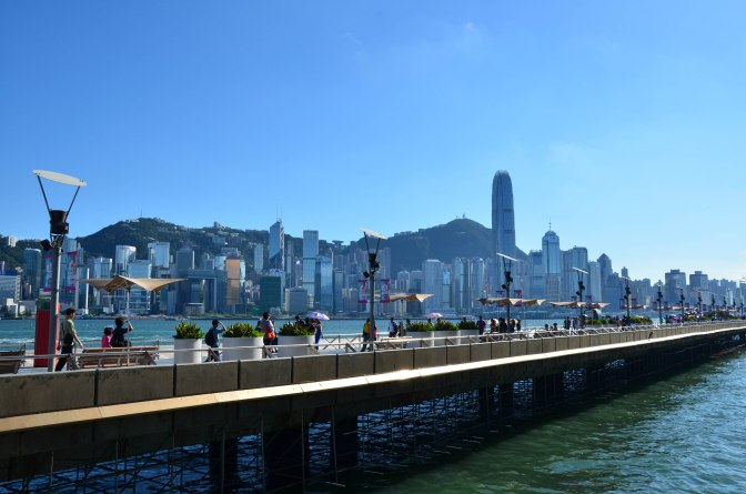 Wander Pi Wednesdays: Hong Kong's Victoria Harbour